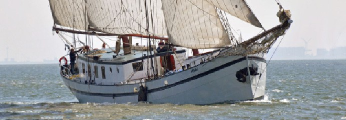 Vakantie op een boot