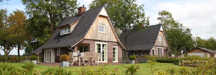 Luxe bungalows midden in de natuur!