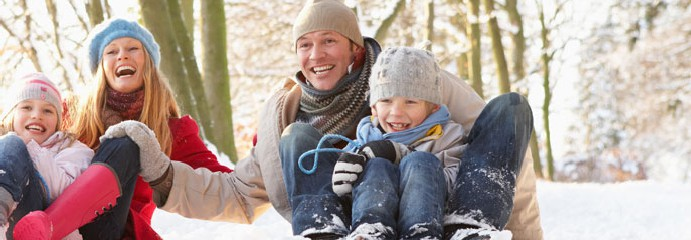 Een sneeuwrijke omgeving of toch een zonnige kerstvakantie 2014?