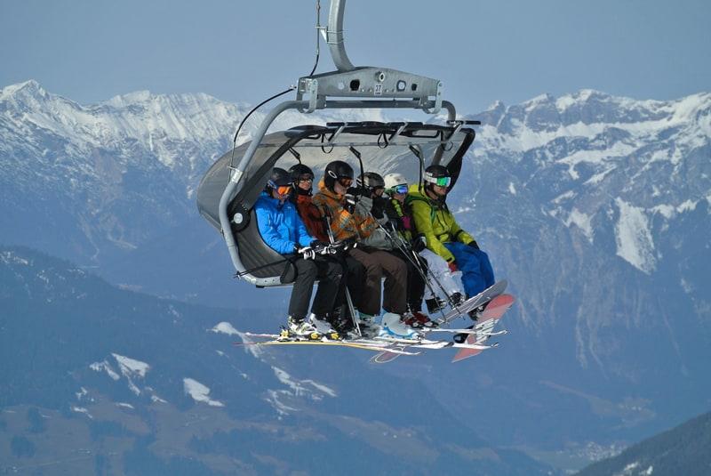 Skiliften Gerlos